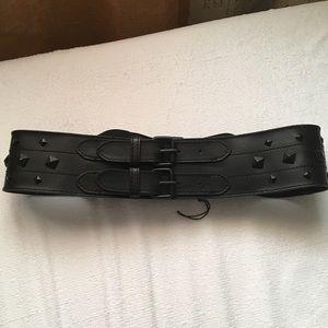 NWT BCBG studded belt s/m